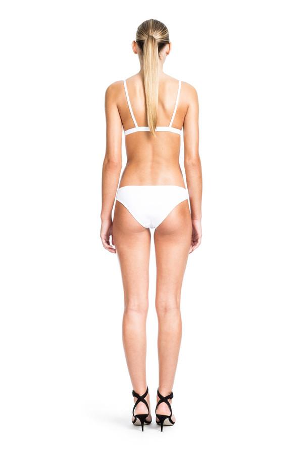Beth Richards Second Skin Bra - White BASIC TRIANGLE BRA TOP