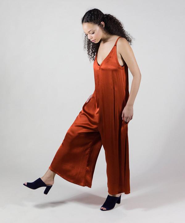 Lacausa Blood Orange Santi Jumpsuit