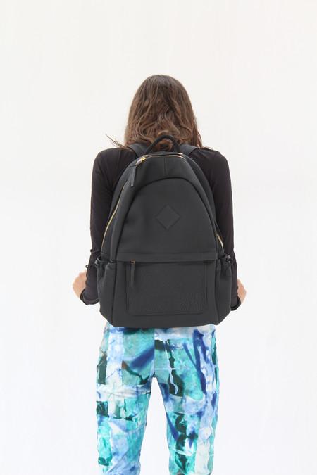Aandd Leather Backpack Black