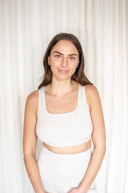 Rita Row Nus Rib Knit Crop Tank