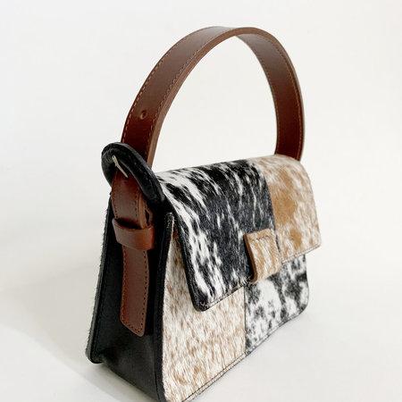 Crescioni Mini Estel Bag - Patchwork Pony Hair