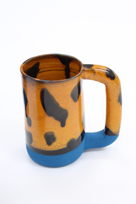 Workaday Handmade Ceramic Tortoise Shell Mug