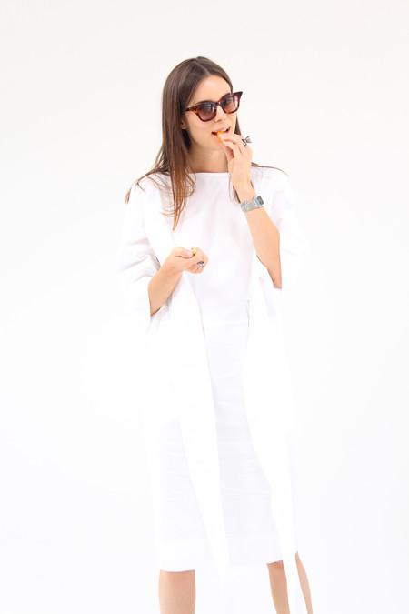 Gary Bigeni Harper Dress White