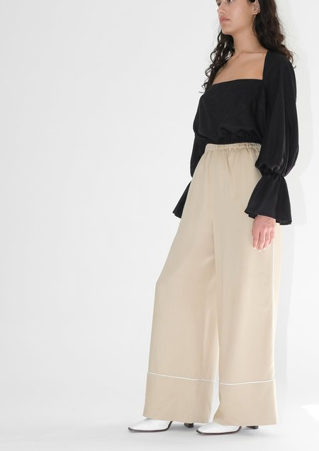 OhSevenDays Allday Pj Trousers - beige