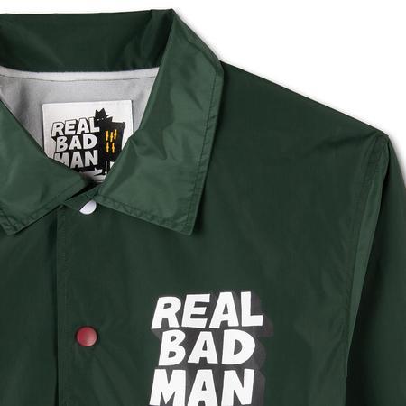 Realbadman Flipped Coaches Jacket - Teal