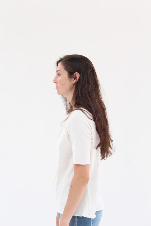 Beklina Knit T Shirt Ivory