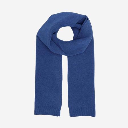 Colorful Standard Merino Wool Scarf - Royal Blue