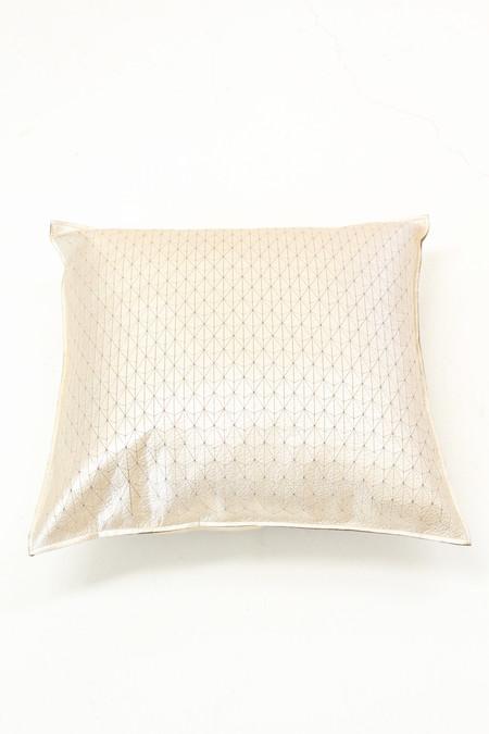 Molly Designs Metallic Platinum Pillow Ternion