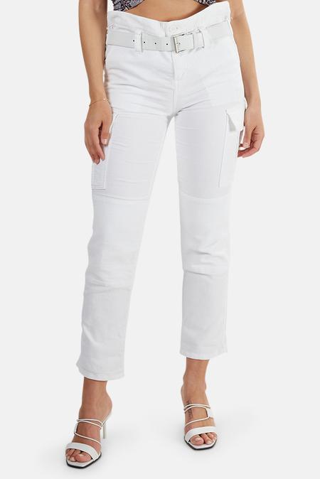 RtA Sallinger Cargo Pants - White