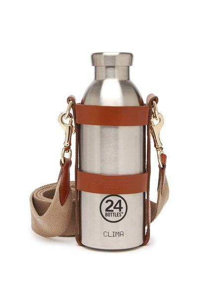 Officina del Poggio Limited Edition Bottle Bag Gift Set - Tan