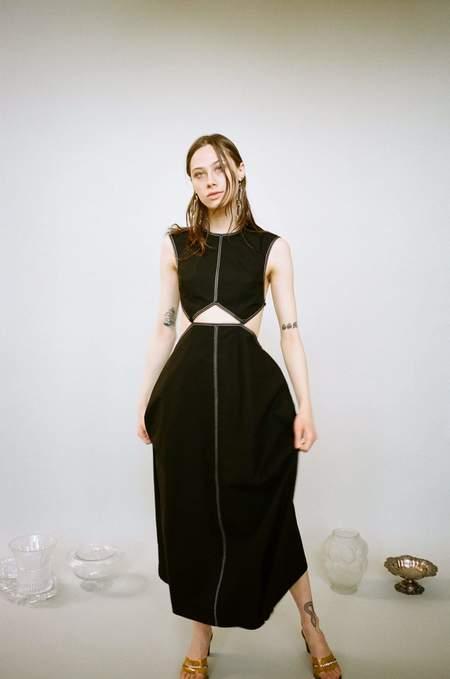 J. Kim Square Dress - Black