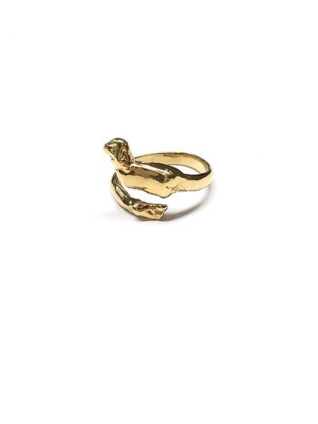 CLARK JEWELRY Cupid Ring - 18K Gold Vermeil