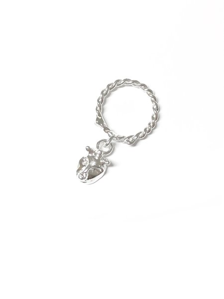 CLARK JEWELRY Lilith Charm Ring - Sterling silver