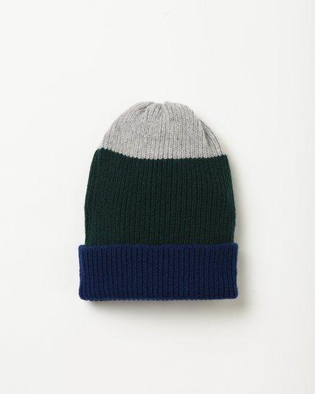 Country of Origin Sample Hat - blue/green/gray