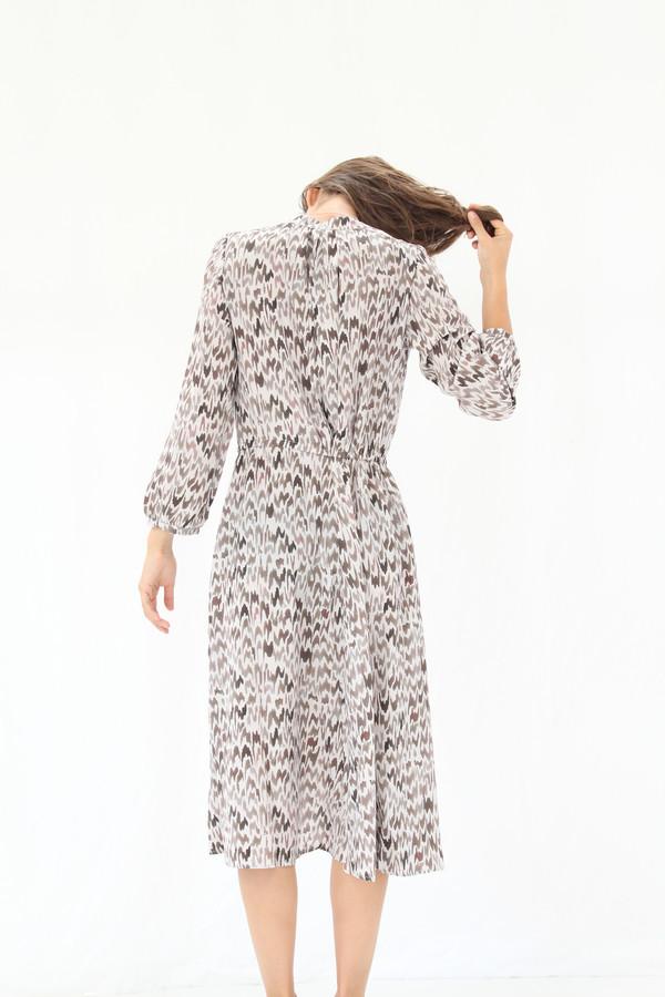 Podolls Rowan Dress Hazel Silk