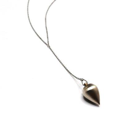 Mitchell Street Metal Fat Drop Necklace