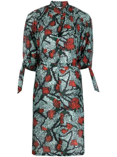 Christian Wijnants Danaka Dress - Red Iris