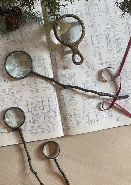 AERO Kindling Magnifying Glass - Brass