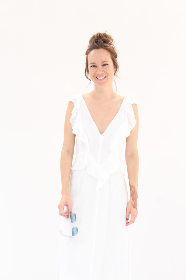 Rachel Comey Ruby Dress White