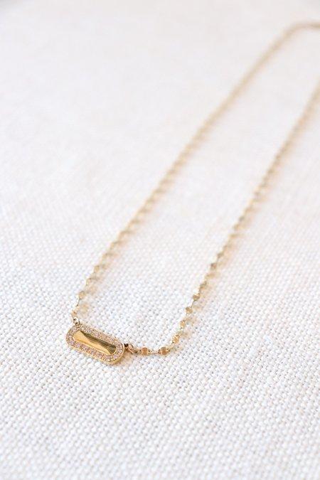 Cindy Boudov Jenny Diamond Necklace - Yellow Gold