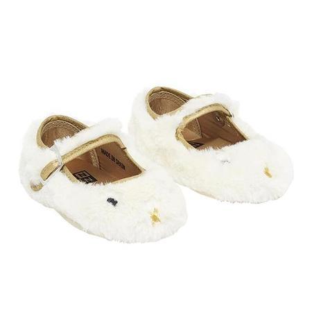 KIDS Bonton Baby Mia Slippers - Cream