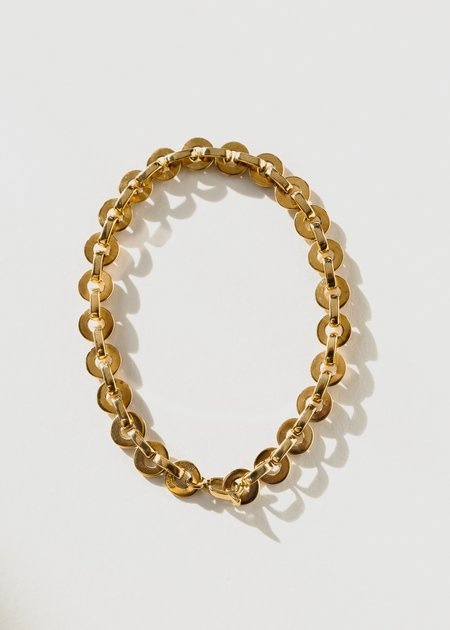 Jasmin Sparrow Moon Anklet - Gold