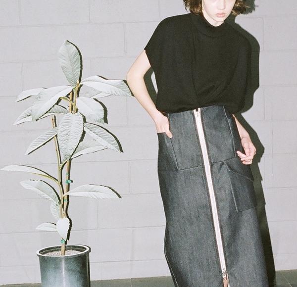 Alexa Stark Bamboo Snap Tee