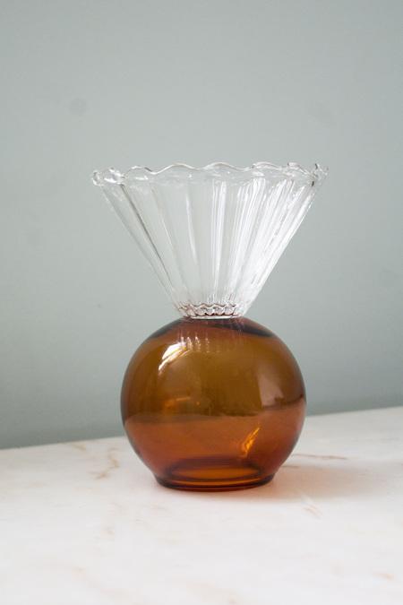 Natalia Criado Crystal Cup - Amber