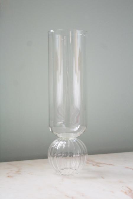 Natalia Criado Crystal Transparent Flower Vase