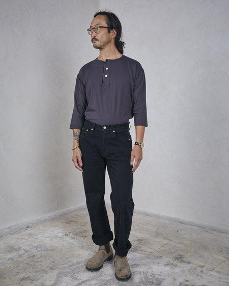 Esby HARRIS 5 POCKET PANT - BLACK DENIM
