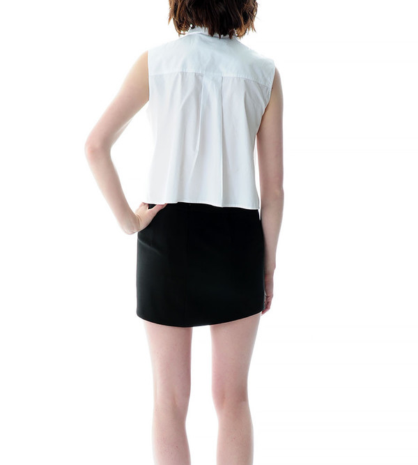 Mason By Michelle Mason Cut Out Mini Skirt