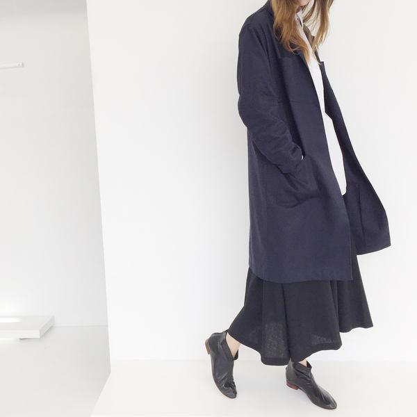 Johan Vintage Black Circle Skirt