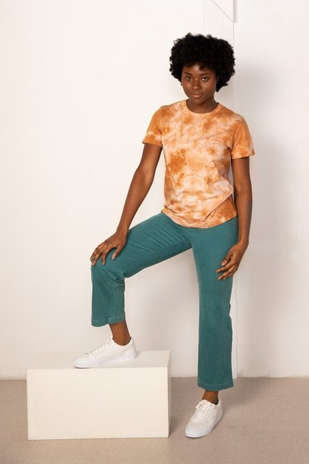 North Of West Taylor Tee - Amber Tie Dye