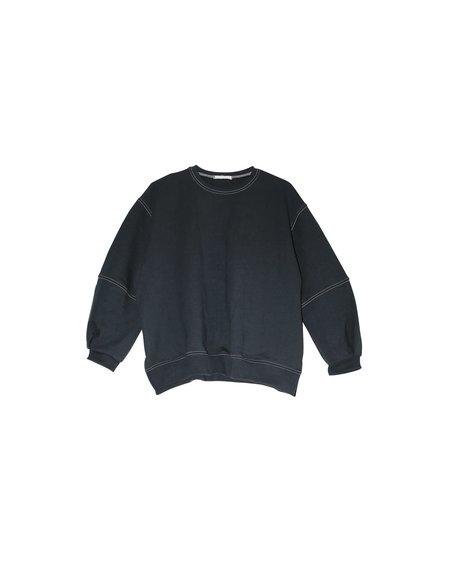 Friends of Jenny Bisque Dawn Topstitch Sweatshirt