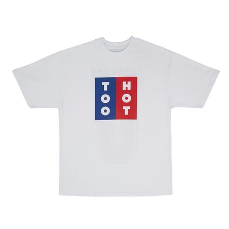 TOO HOT X LACK OF GUIDANCE PAUL T-SHIRT - WHITE