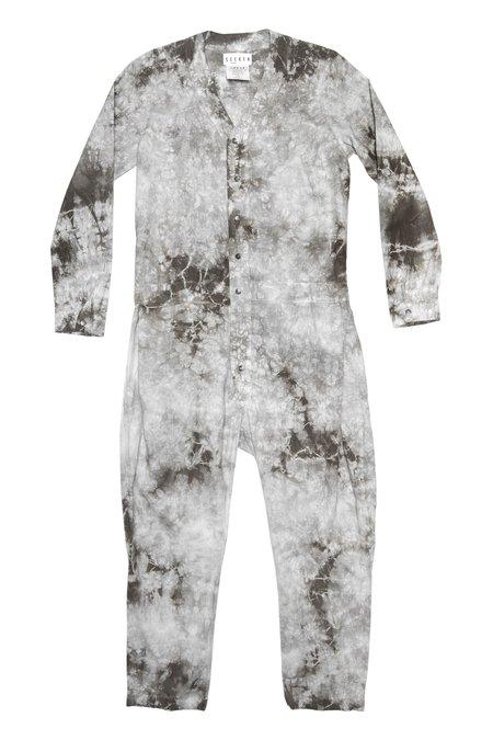 Unisex SEEKER Jumpsuit - Tie Dye Vine