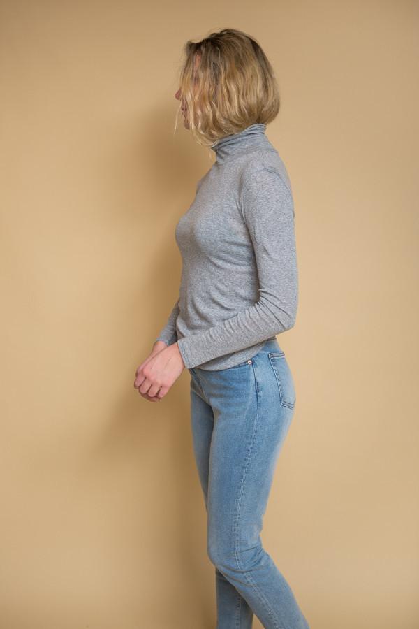 Just Female Riz Rollneck / Grey Melange