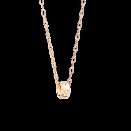 Pomellato Iconica Pendant with Chain - 18k Rose Gold