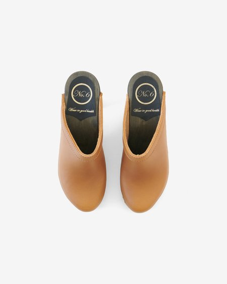 No.6 Old School High Clog - Palomino