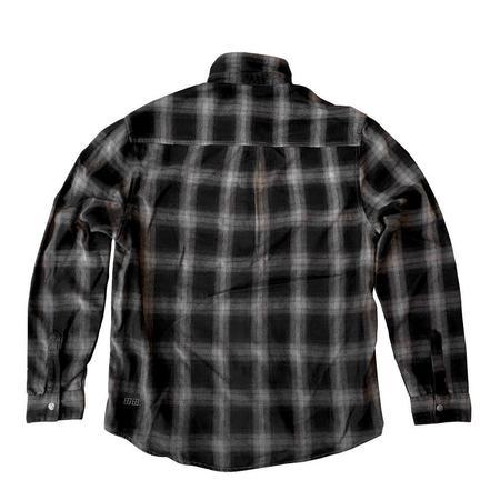 Ksubi Consciousness L/S Shirt - Grey Plaid