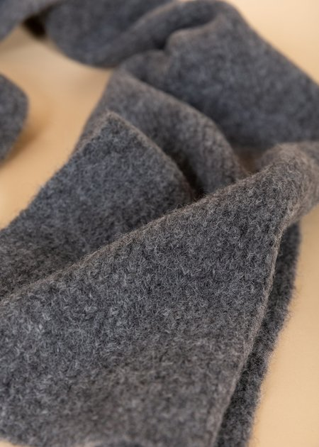 Homecore Baby Alpaca Wool Scarf - Cement