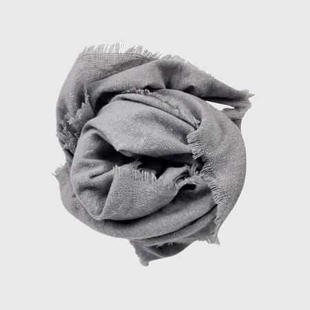 Hat Attack Cozy Solid Scarf - Light Grey