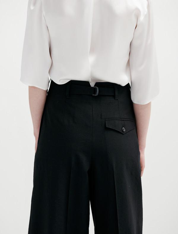 Lemaire Two-Pleat Pants - Black