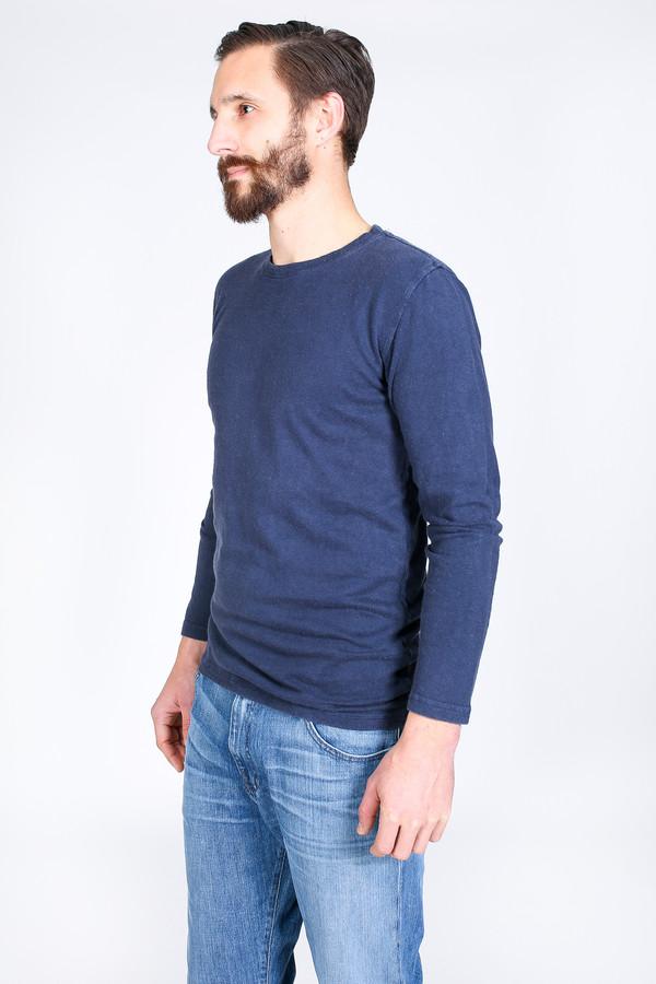 Men's Jungmaven Baja Long Sleeve T-Shirt in Navy