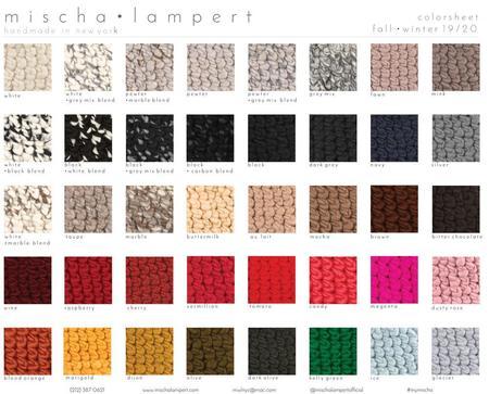 Mischa Lampert XL pom nolita one pom beanies - camo graphite