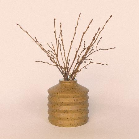 Lindsey Hampton Ridge Vase - Ochre