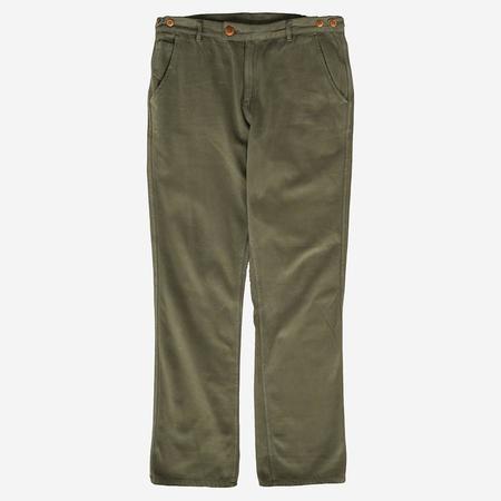 Corridor Moleskin Trousers - Olive
