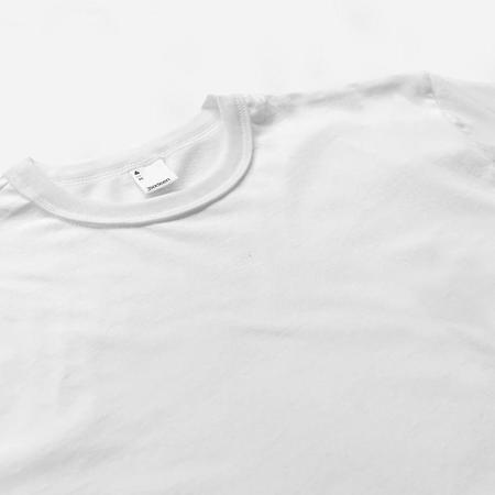 3Sixteen Pima Cotton Plain T Shirt - White