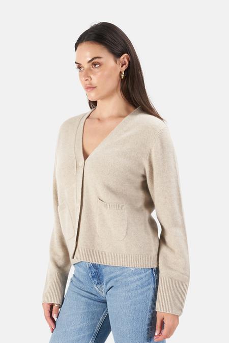 Naadam Cardigan Sweater - Oatmeal