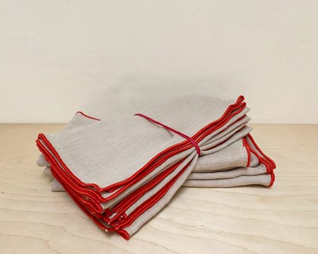 Madre Linen Napkins - Sand
